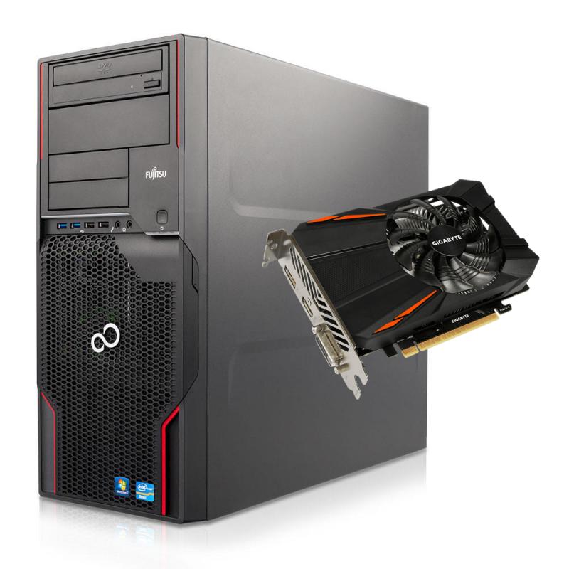 Fujitsu Celsius W410 Геймърски Компютър – 9935