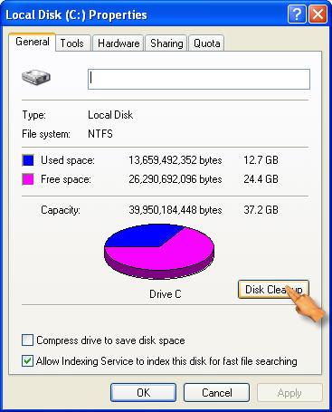 Как да освободя памет в компютъра – 10451