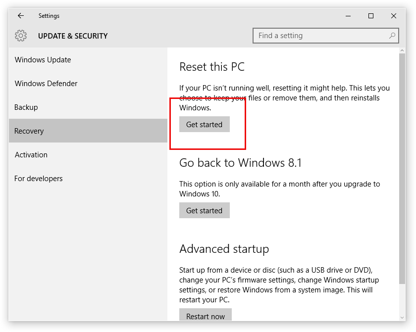 Как се преинсталира компютър - Windows – 10611