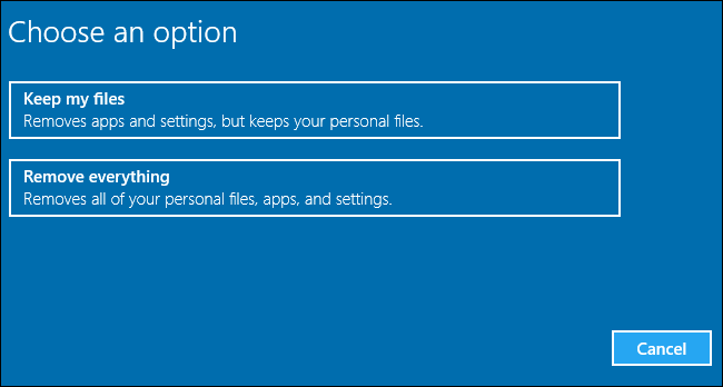 Как переустановить компьютер - Windows - 10610