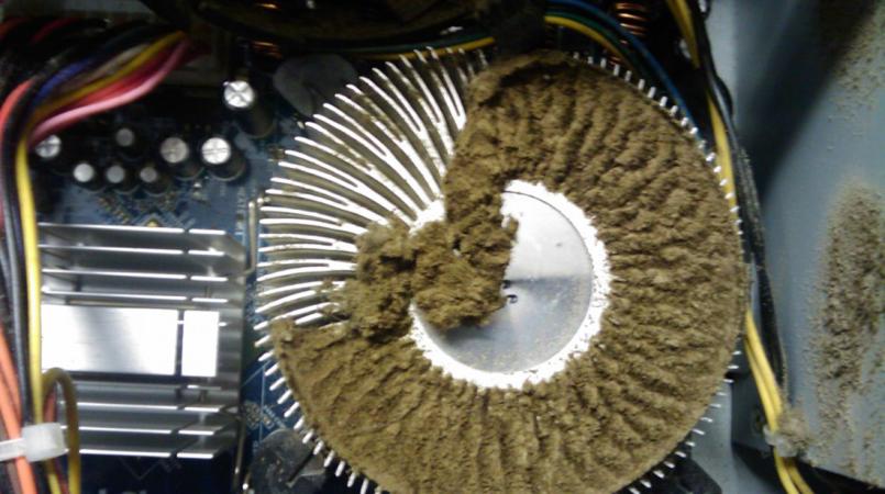 Почему компьютер выключается или перезагружается - 10890