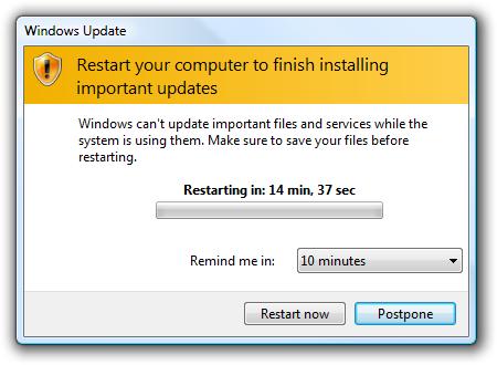 Защо компютърът се изключва или рестартира сам – 10884