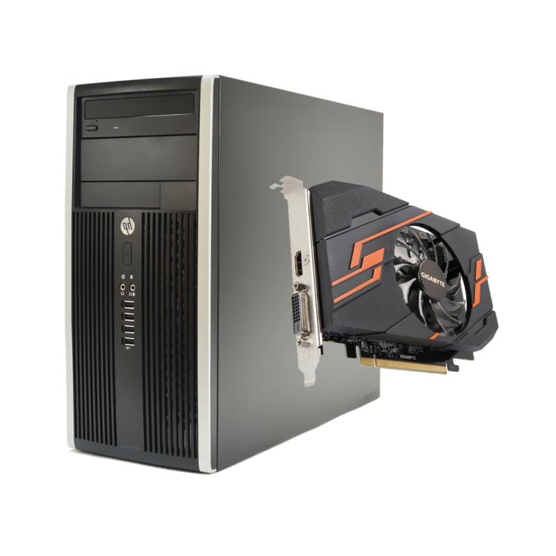 HP Compaq 6300 Pro Бюджетен Геймърски Компютър – 12754
