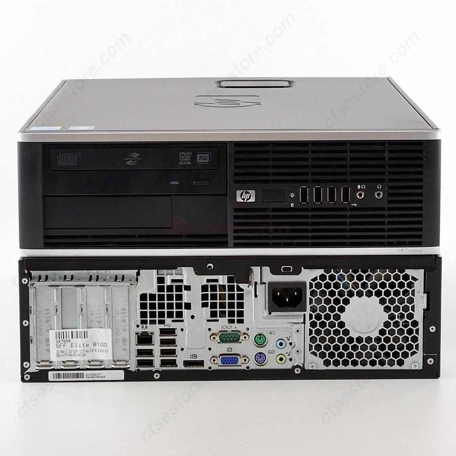 HP Compaq Elite 8100 SFF i3 – 4254