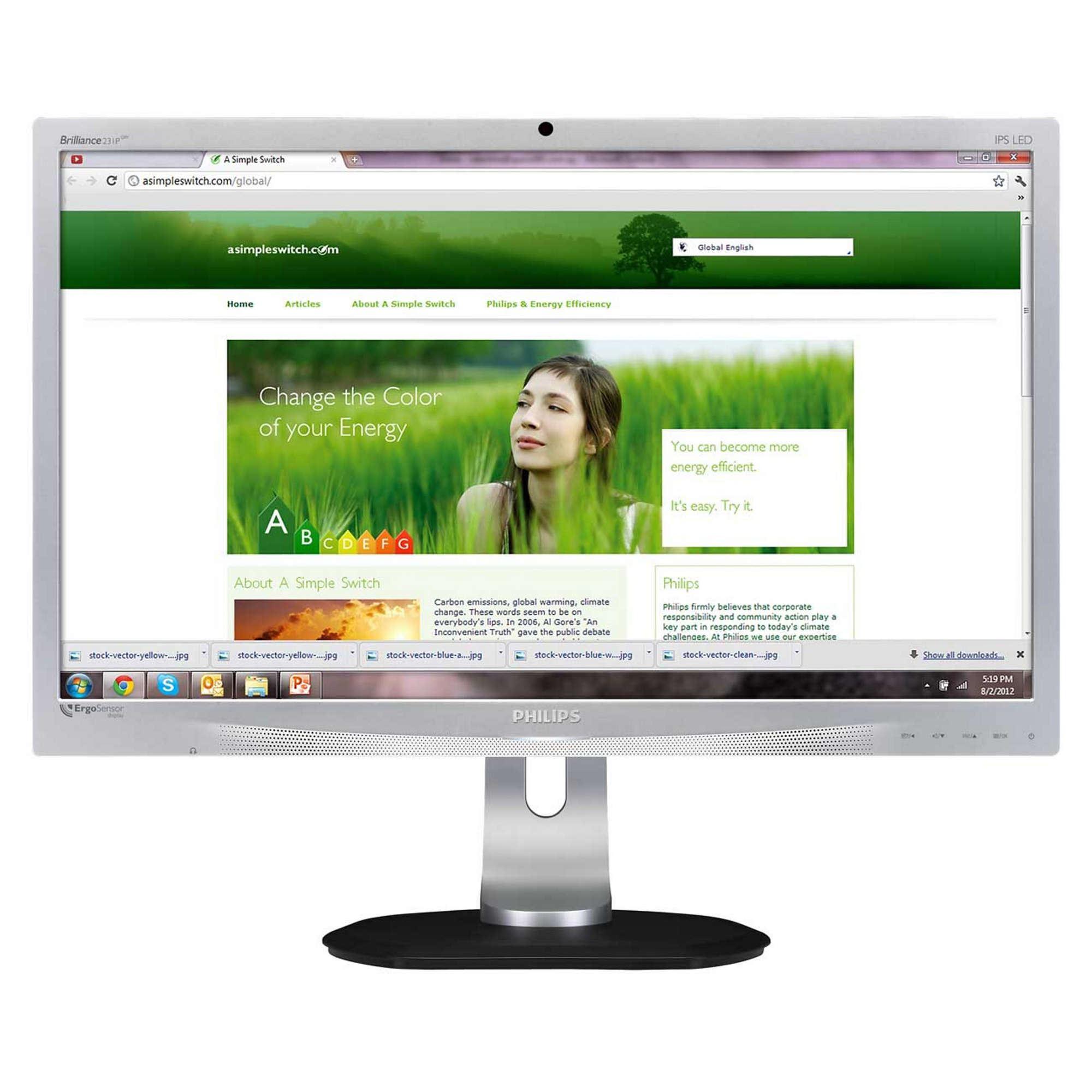 Philips Brilliance 231B LED Full HD – 4491